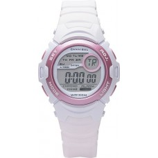 Cannibal - Digital White & Pink Girls Watch